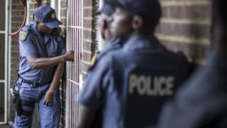 S Africa Police