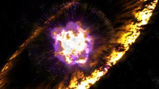 supernova illustration