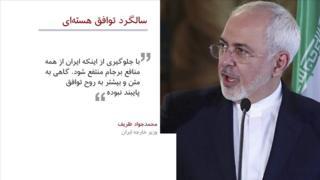 دومین سالگرد توافق هستهای ایران و قدرتهای جهانی