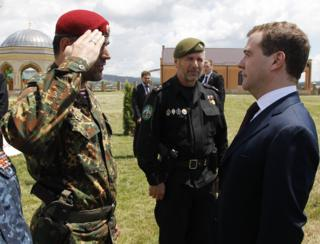 Медведев, Делимханов, Чечня