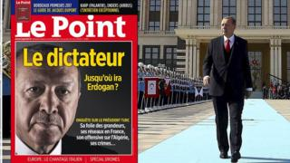 Erdoganlı Le Point kapağı