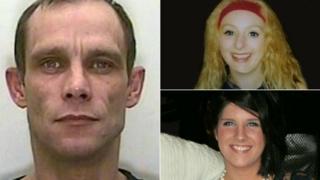 Christopher Halliwell, Becky Godden and Sian O'Callaghan