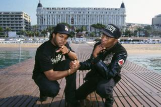 Ice Cube and John Singleton