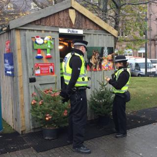 """Police """"grotto"""""""
