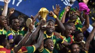 Cameroun niyo yatsinze igikombe ca Afrika c'imigwi y'ibihugu mu 2017 mu kwezi kwa kabiri