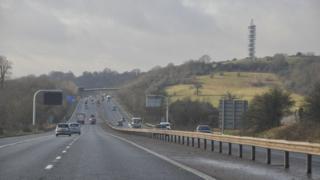 M32 near Bristol