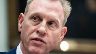 Acting US Defence Secretary Patrick Shanahan
