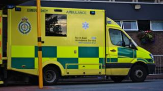 An NEAS ambulance