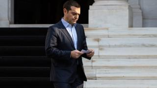 Greek Prime Minister Alexis Tsipras in Athens, 13 January