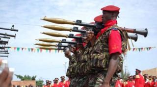 Kikosi cha ulinzi wa rais Burkina Faso