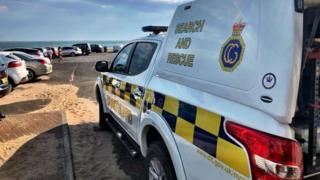 Screen grab from Ardrossan Coastguard Facebook page