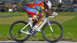 Mosana Debesay of Eritrea at the 91st UCI Road World Championships 2018 on 25 September 2018 in Innsbruck, Austria
