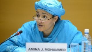 Ministar Muhalli na Najeriya Amina Mohammed