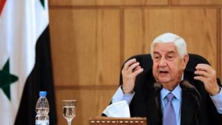 ولید معلم، وزیر خارجه سوریه