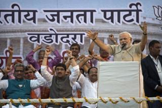 भारतीय जनता पार्टी, प्रधानमंत्री नरेंद्र मोदी