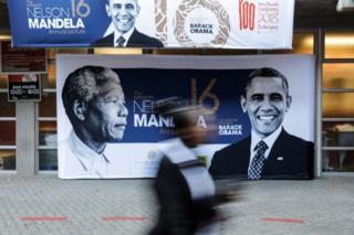 پوستر ماندلا و اوباما
