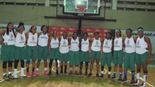 D-Tigress na the Nigeria female national basketball team