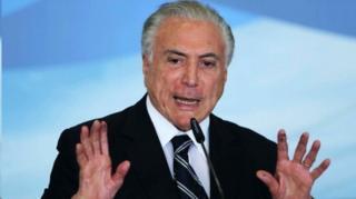 میشل تمر تا دو ماه پیش رئیس جمهور برزیل بود