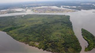 The Nigeria Delta creeks. File photo