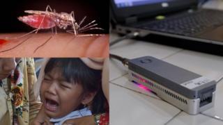 Malaria patient and minION