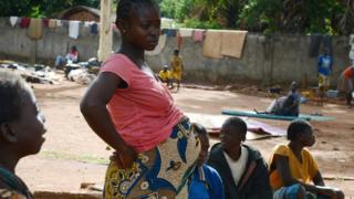 Ghana, femme, culture, village