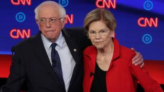 Bernie Sanders and Elizabeth Warren are both considered radical progressives among some voters