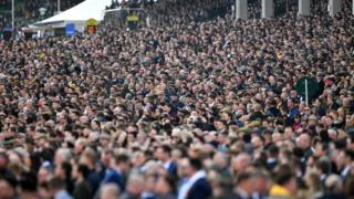 Technology Crowd at Cheltenham Festival
