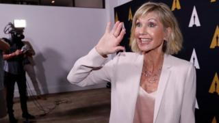 Olivia Newton-John in California, 2018