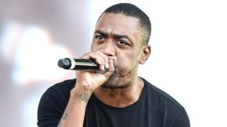 Wiley performs on the main stage on Day 1 of Wireless Festival at Finsbury Park on July 6, 2018 in London, England
