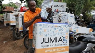 Jumia delivery man