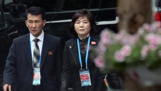 (캡션) 지난 2월 베트남에서 열린 제2차 북미정상회담 당시 최선희 북한 외무성 부상