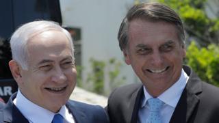 Benjamin Netanyahu e Bolsonaro