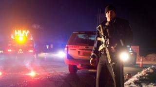 土地の使用をめぐりオレゴン州内に立てこもっていた武装勢力が逮捕された(26日)