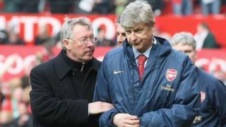 Sir Alex Ferguson da Arsene Wenger