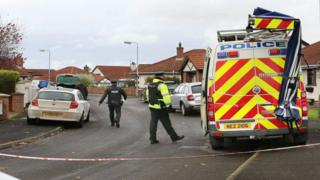 The scene of the fatal incident in Limavady