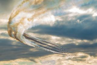 Red Arrows at Scottish International Airshow