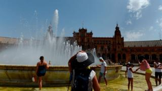 фонтан в Испании