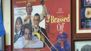 Brassed Off poster