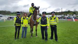 Mounted special constabulary
