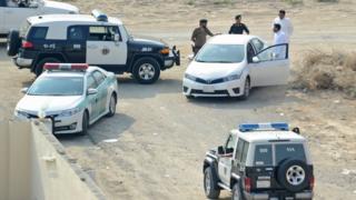 سعودی پولیس