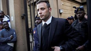Oscar Pistorius lors d'une audience au tribunal (illustration).