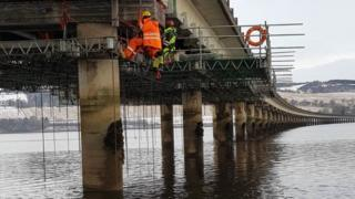 Repairs to Cromarty Bridge