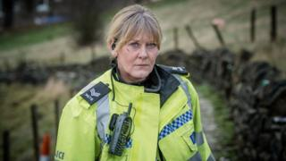 Sarah Lancashire appearing in Happy Valley