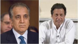 عمران خان و زلمی خلیلزاد