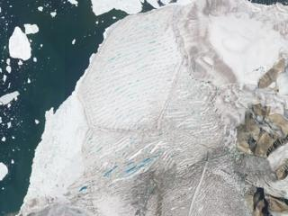 Milne Ice Shelf on 26 July