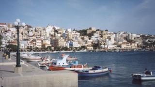 Sitia harbour Crete