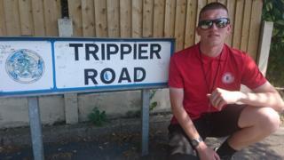 Sam Smedley on Trippier Road