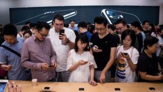 کاربران اینترنت در چین