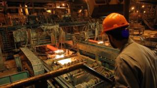 آمریکا می گوید محصولات فولاد مبارکه یک درصد تولید ناخالص داخلی ایران را تشکیل می دهند