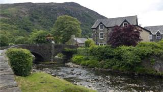 scene in Wales